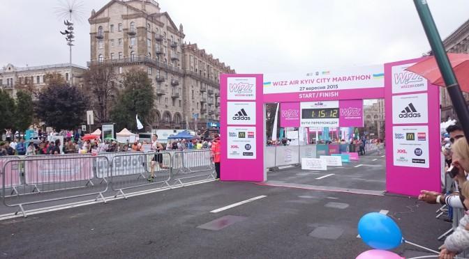 Flo erster beim Kiew-Marathon*